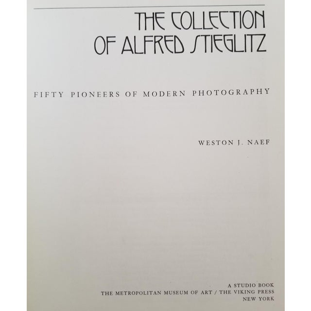 American The Collection of Alfred Stieglitz - Fifty Pioneers of Modern Photography by Weston J. Naef For Sale - Image 3 of 9