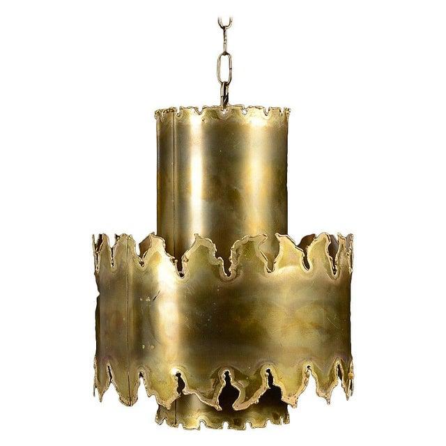 Holm Sørensen Brutalist Style Pendant by Holm Sorensen For Sale - Image 4 of 4