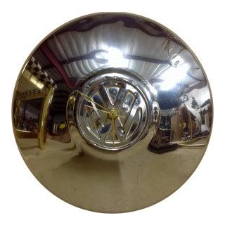 Mid-Century Chrome Volkswagen Clock