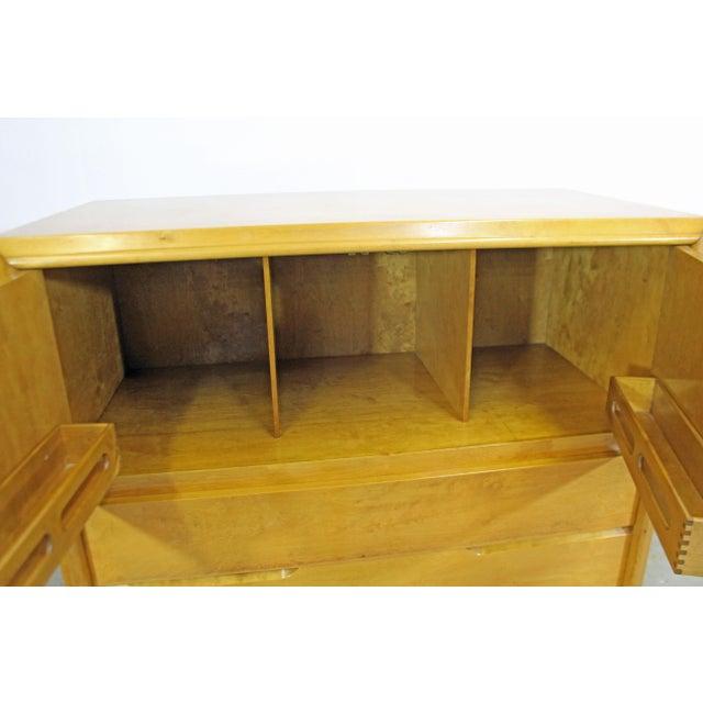 Wood Mid-Century Modern Edmond Spence Tall Chest Dresser For Sale - Image 7 of 13