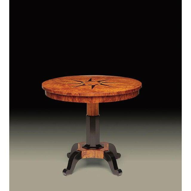 Biedermeier Omicron Lamp Table For Sale - Image 3 of 3