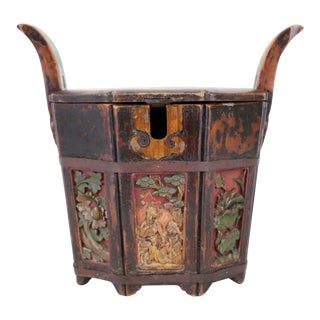 Antique Chinese Wedding Bucket