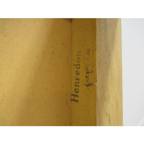 Henredon Decorator Faux Painted Coffee Table For Sale - Image 9 of 10