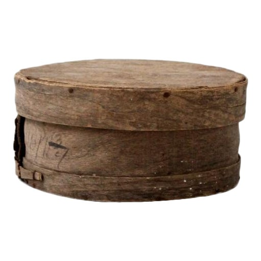 Antique Primitive Cheese Box - Image 1 of 6