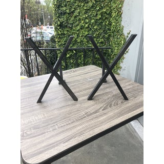 Small Wrought Iron Andirons - a Pair Preview