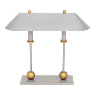 Vintage 1980s Postmodern Desk Lamp by Robert Sonneman For Sale