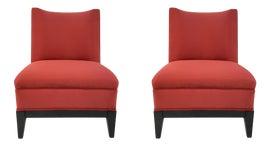 Image of Ebony Club Chairs