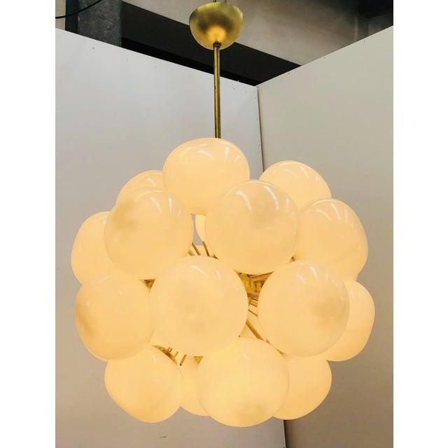 Italian Ventiquattro Sputnik Chandelier by Fabio Ltd For Sale - Image 3 of 8
