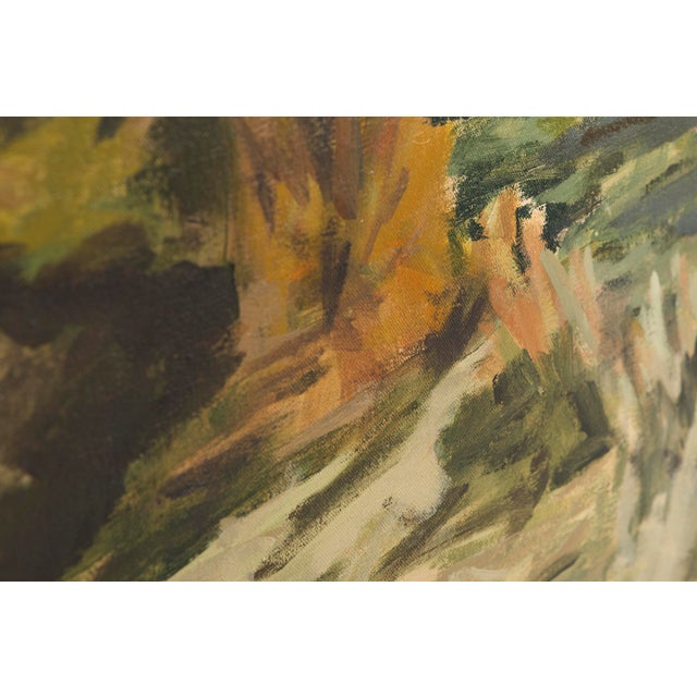 """2010s Slater Sousley, """"The Overgrowth on the Bank"""" For Sale - Image 5 of 8"""