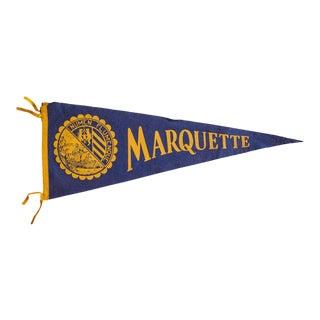 Marquette Felt Flag For Sale