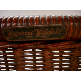 Heywood-Wakefield Entry Wicker Table Preview