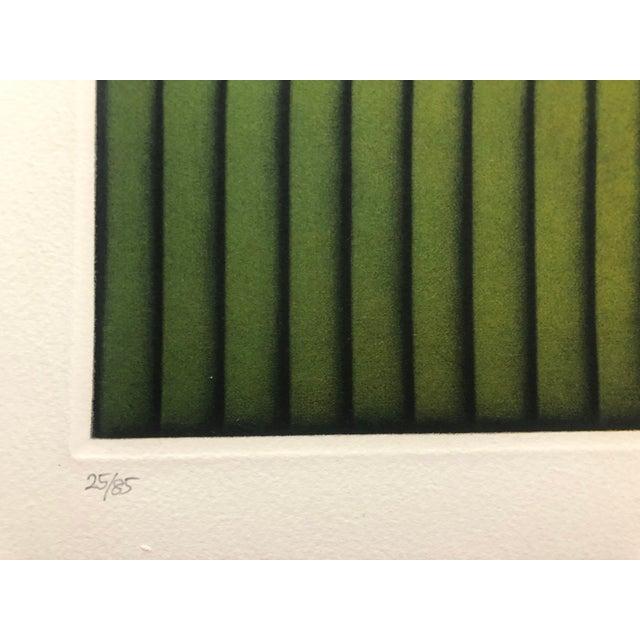 "Kazuhisa Honda Modern Mezzotint ""Park"" 1980s For Sale - Image 4 of 7"