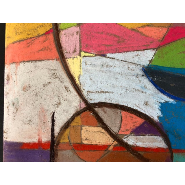 Abstract California an Original Pastel by Erik Sulander For Sale - Image 3 of 5