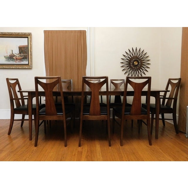 Mid-Century Modern Kent Coffey Perspecta Dining Set - Image 2 of 7