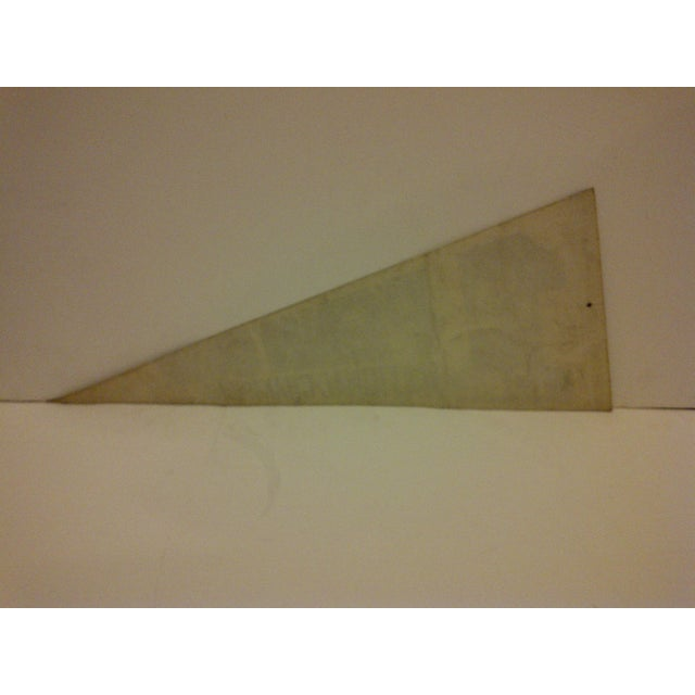 Vintage Penn State Football National Champions 1982 Team Pennant For Sale In Pittsburgh - Image 6 of 6