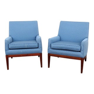 Modern Danish Lounge Chairs- A Pair For Sale