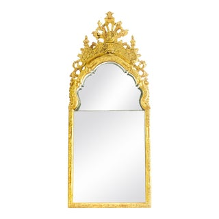 19th C. English Giltwood Mirror For Sale