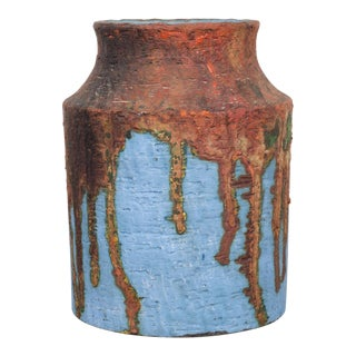 Mid-Century Marcello Fantoni Ceramic Vase C.1960 For Sale