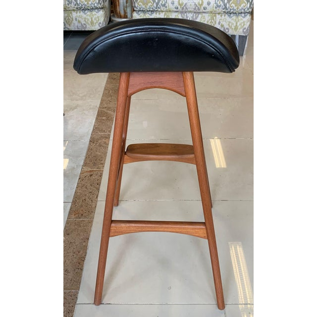 Eric Buch Danish Modern Stools - A Pair For Sale - Image 9 of 13