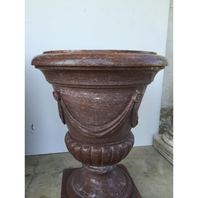20th Century Marble Urn Form Base - Image 2 of 4