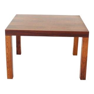 Vintage Danish Modern Rosewood Side Table For Sale