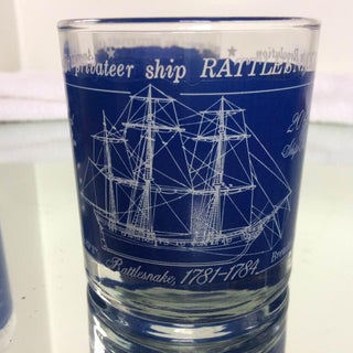 USS Rattlesnake Lowball Cocktail Glasses - Set of 4 Preview