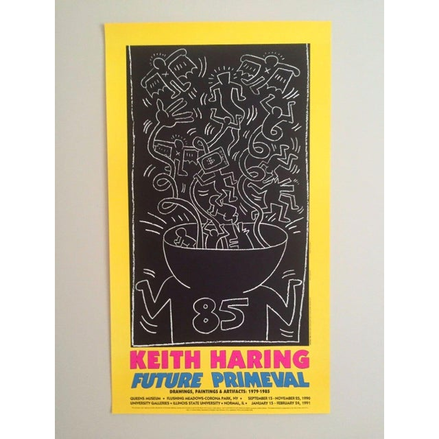 "Keith Haring ""Future Primeval"" Original Offset Lithograph For Sale - Image 10 of 10"