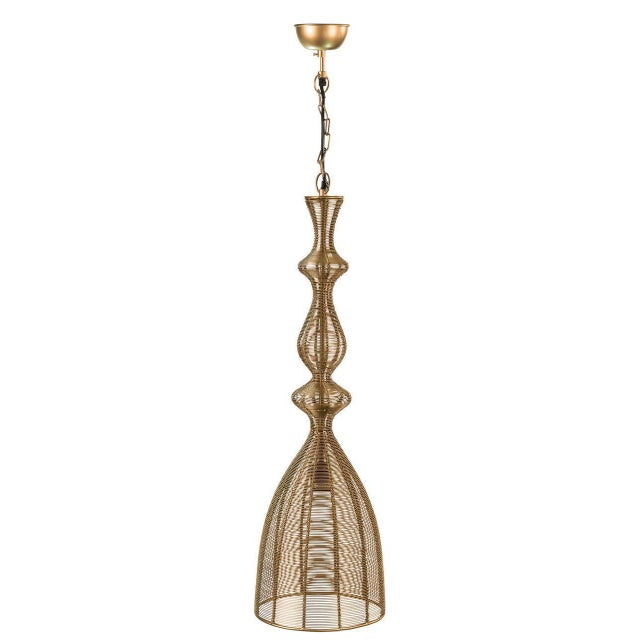 Sarreid LTD 'Hobbs' Gold Pendant Light - Image 2 of 2