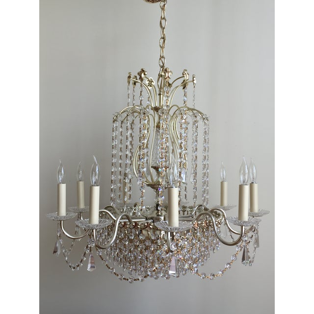 Strass Crystal Chandelier Schonbek swarovski strass crystal chandelier chairish schonbek swarovski strass crystal chandelier image 2 of 7 audiocablefo