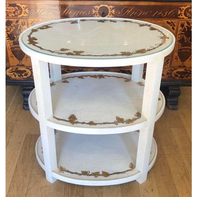 1950s Vintage Designer Hollywood Regency End Table For Sale - Image 5 of 5