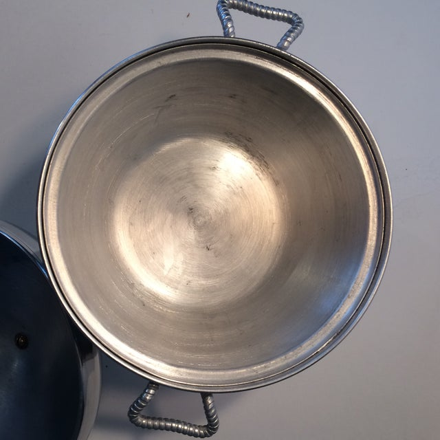 Aluminum Mid-Century Modern Insulated Ice Bucket For Sale - Image 7 of 11