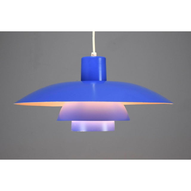 Vintage Poul Henningsen Ph 4/3 Pendant Light For Sale - Image 9 of 9