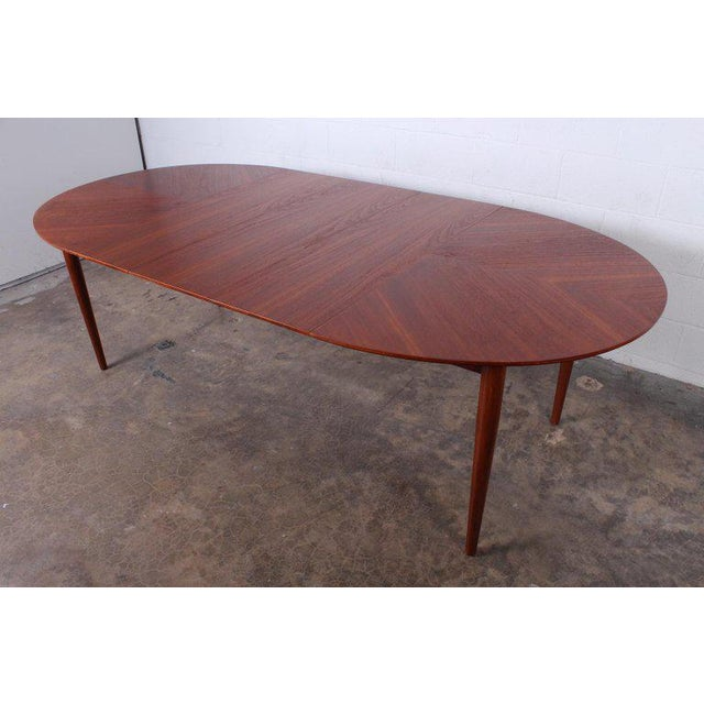 Dining Table by Finn Juhl for Baker For Sale - Image 10 of 13