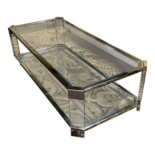Contemporary Mitchell Gold Melrose Rectangular Coffee Table For Sale