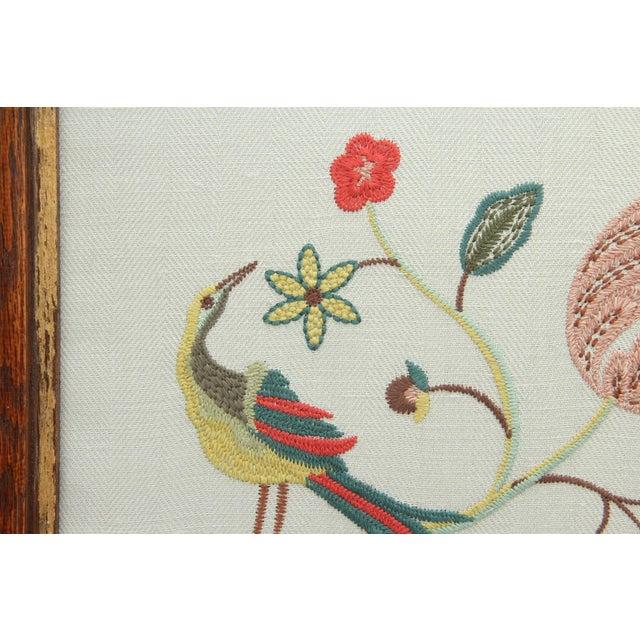 Kravet Margot Sky Embroidered Panel For Sale - Image 4 of 6
