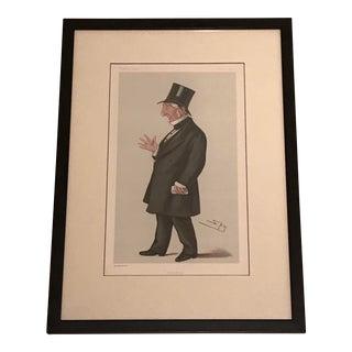 """""""Aberdeen"""" Vanity Fair Caricature Lithograph"""