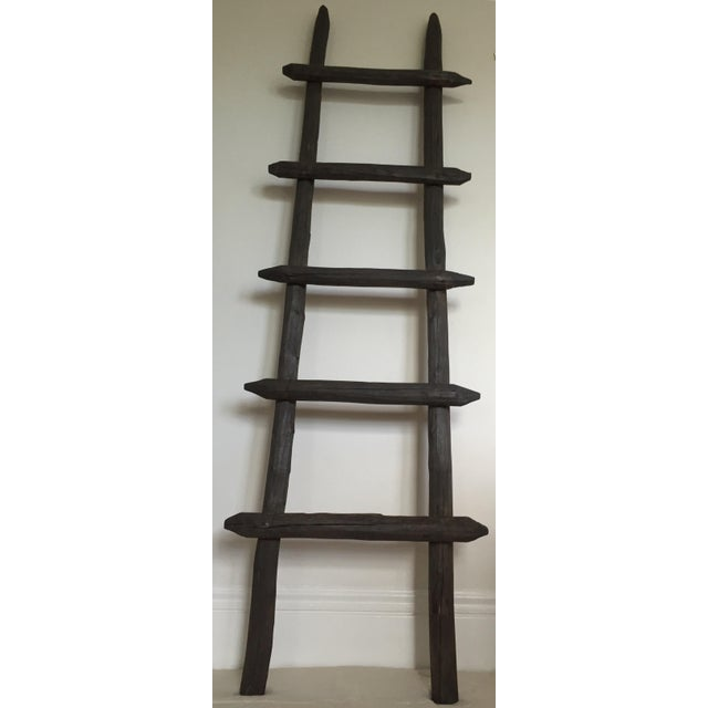 Rustic Wooden Ladder - Image 4 of 8