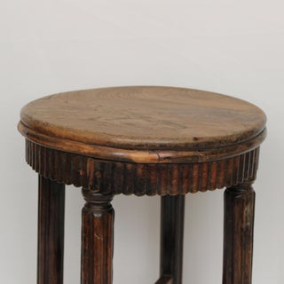 Early 20th Century Antique Chinese Wood Stool Preview