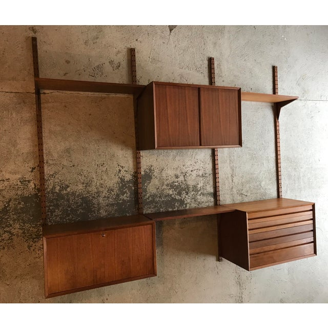 Poul Cadovius Teak Cado Wall Unit Denmark For Sale - Image 13 of 13