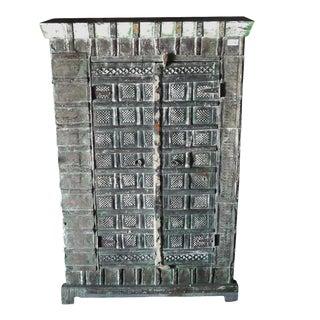 Colonial Metal Work Storage Cabinet