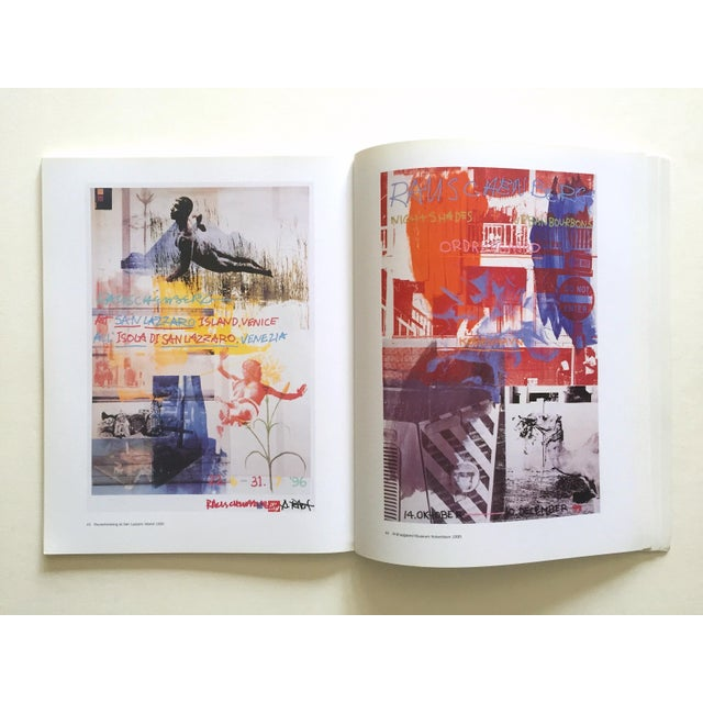 "Abstract Expressionism "" Rauschenberg Posters "" Rare First Edition Collector's Lithograph Print Modern Art Book For Sale - Image 3 of 13"