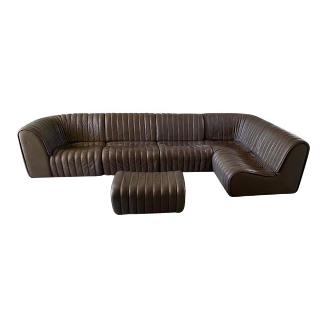 De Sede Ds-22 Modular Sectional For Sale