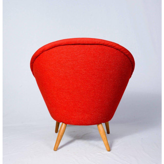 """Nanna Ditzel """"Oda"""" Lounge Chair For Sale In Los Angeles - Image 6 of 9"""