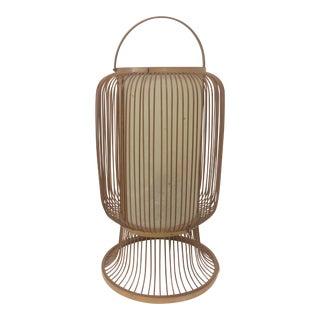 Mid-Century Japanese Bamboo Lantern