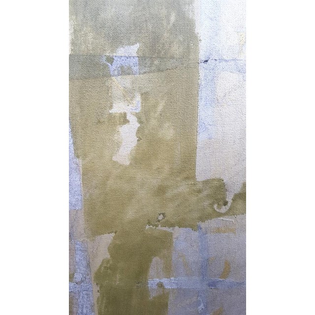 Abstract Christine Averill - Green, Ancient History Painting, 2016 For Sale - Image 3 of 5