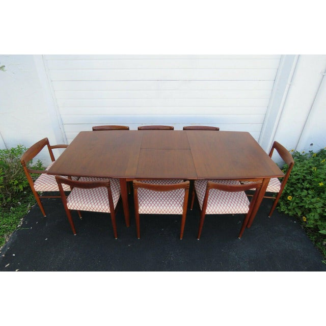 Danish Modern Butterfly Leaf Dining Table Made by Falster For Sale - Image 10 of 11