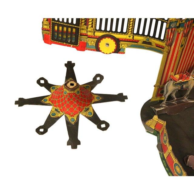 Antique 1920s Paper Circus Game Set - Image 6 of 9