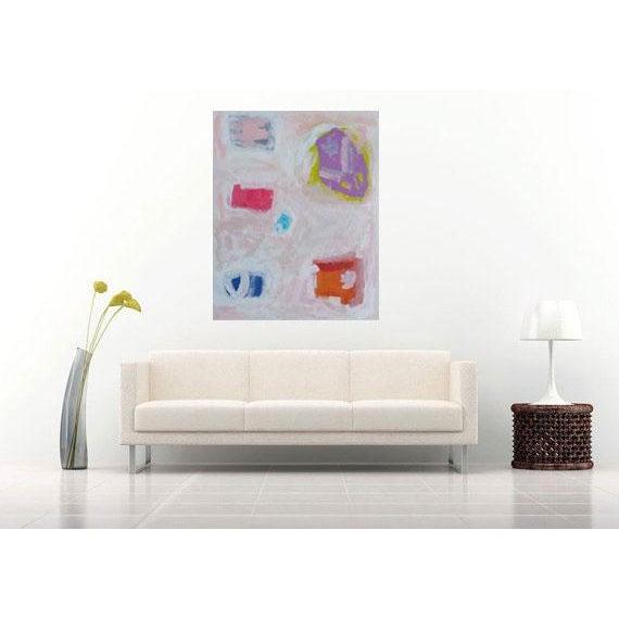 "Susie Kate Abstract ""Caroline"" Original Painting - Image 3 of 3"