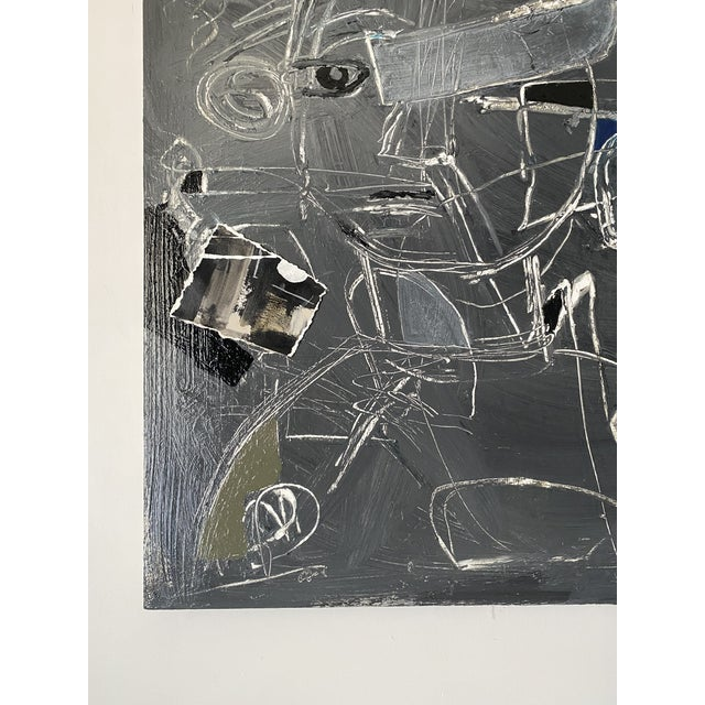 "Canvas ""Child's Play"" Large-Scale Contemporary Painting by Joe Turner For Sale - Image 7 of 8"