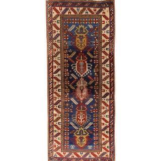 Antique Kazak Runner For Sale